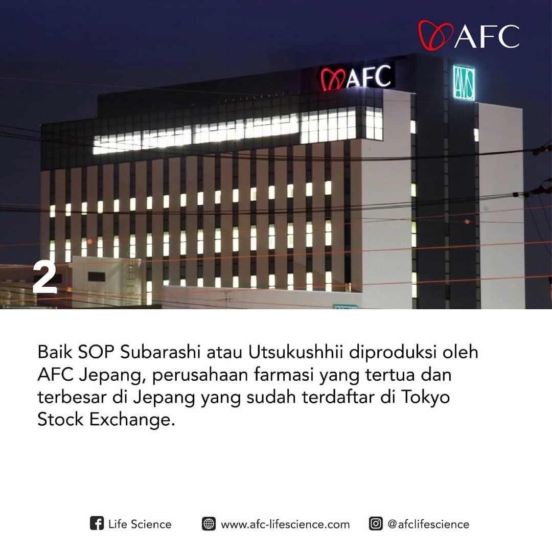 Alasan 2: AFC Life Japan - AFC Utsukushhii dan SOP Subarashi