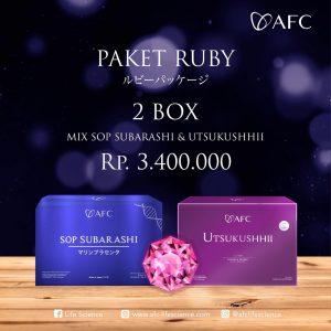 Paket Ruby - 2 Box (Join Member) AFC Life Japan