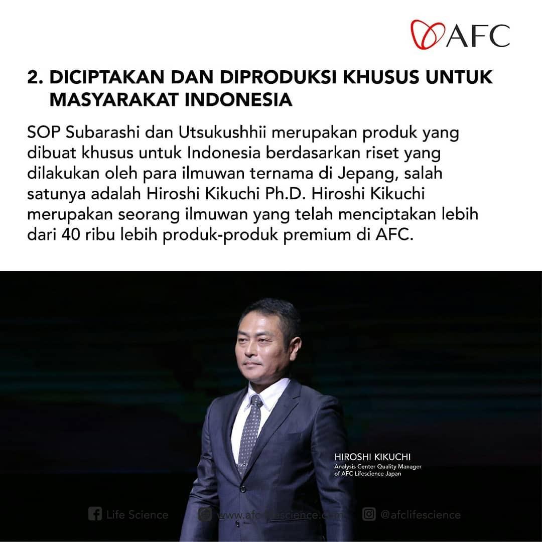 Mengapa 2: AFC Life Japan - AFC Utsukushhii dan SOP Subarashi