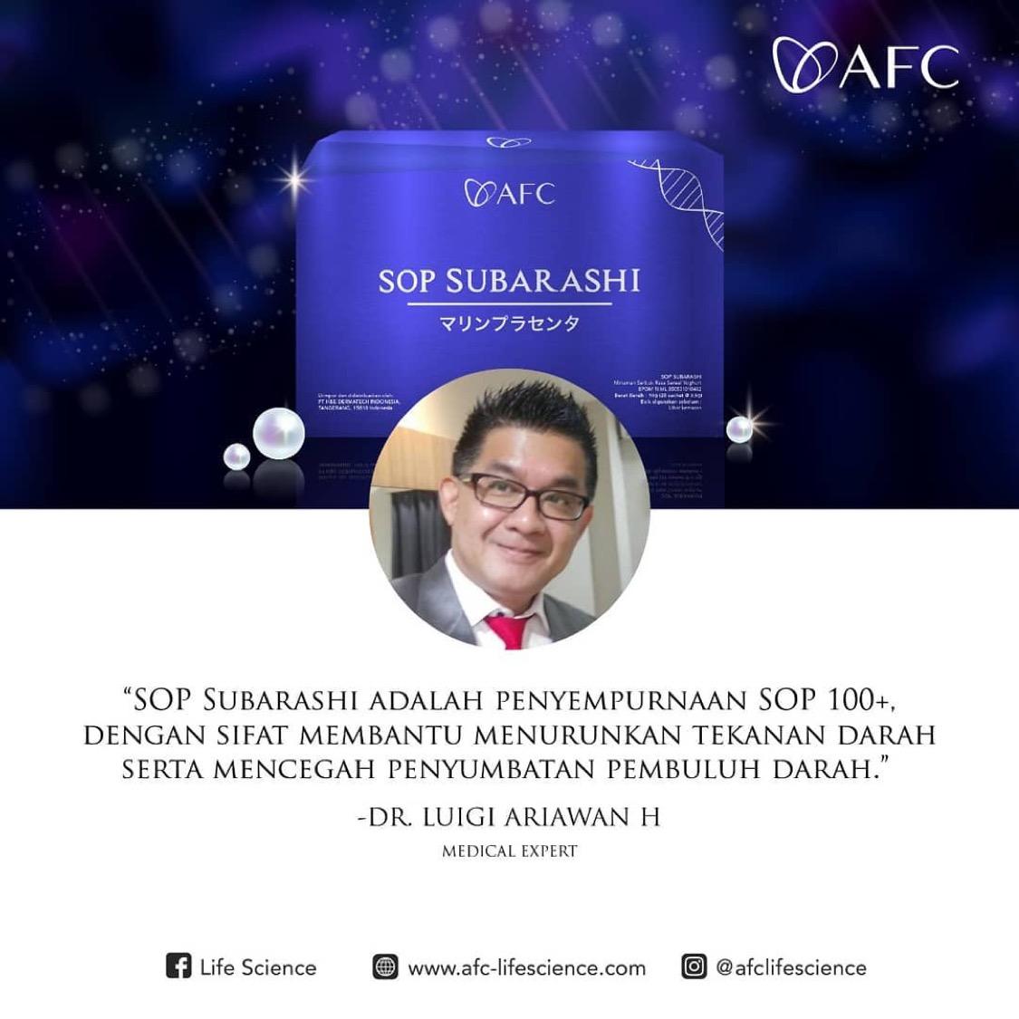 Testimoni SOP Subarashi dr. Lugi Ariawan H