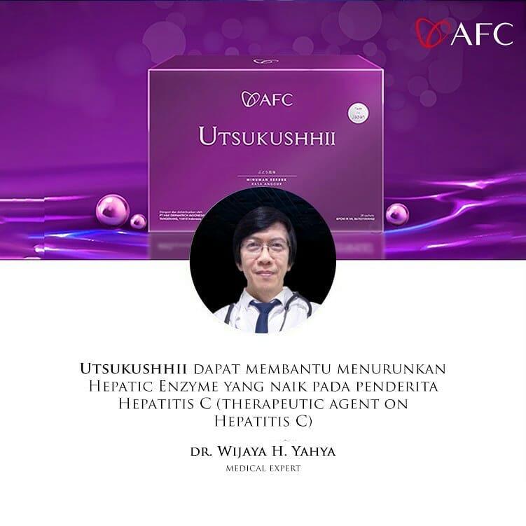 Testimoni AFC Utsukushhii dr. Wijaya H. Yahya