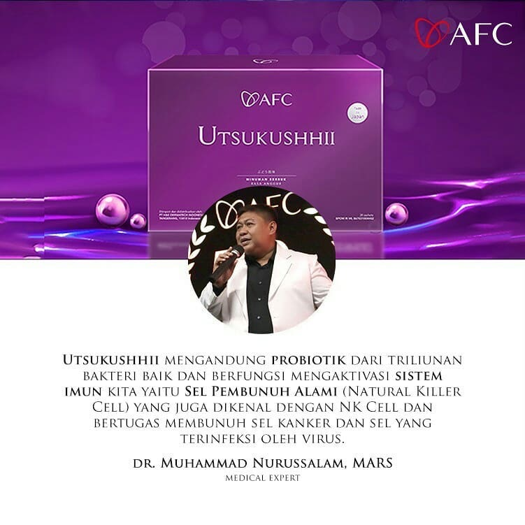 Testimoni AFC Utsukushhii dr. Muhammad Nurussalam, M.A.R.S