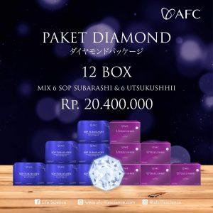 Jual Paket Diamond 12 box (Join Member)