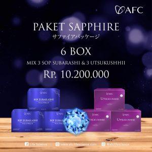 Jual Paket Sapphire - 6 Box (Join Member) AFC Life Japan